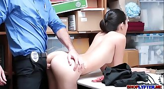 Awesome sex with hot Asian thief Jade Noir