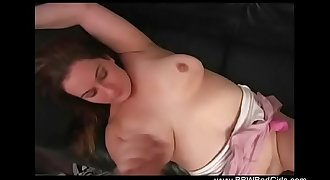 Brother Surprises BBW Sister With Hook-up