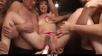 Toy porno experience for obedient Japanese Saori - From JAVz.se