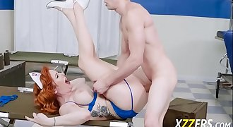 Lauren Phillips Sailors Cock Inwards Pussy and Pouch