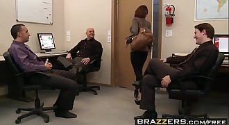 Brazzers - Big Tits at Work - Woopee in the Workspace scene starring Aleksa Nicole and Keiran Lee