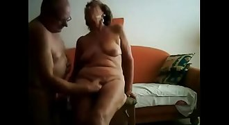 Amateur. Great granny orgasm