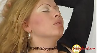 Sexy big tit milf with hairless cunt gives head then fuck a lot the dick 4 jism